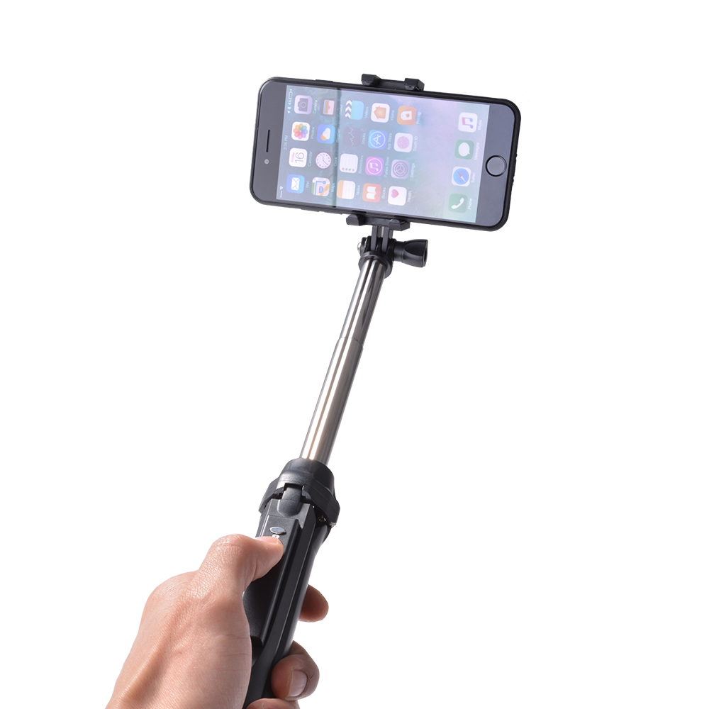 selfie stick bluetooth remote control tripod extendable for phones camera ac689 ebay. Black Bedroom Furniture Sets. Home Design Ideas