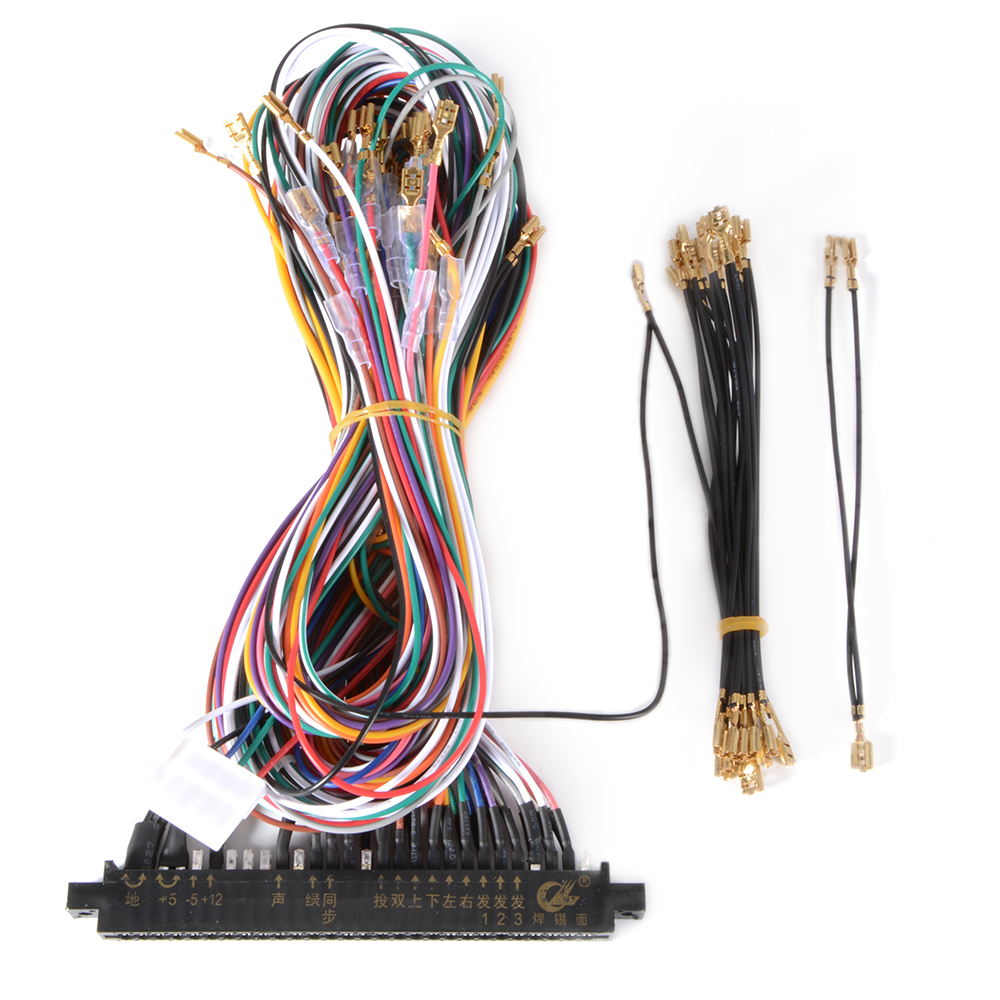 diy wiring harness ls wiring harness diy wiring harness 28pin cable diy for jamma arcade game ... #15