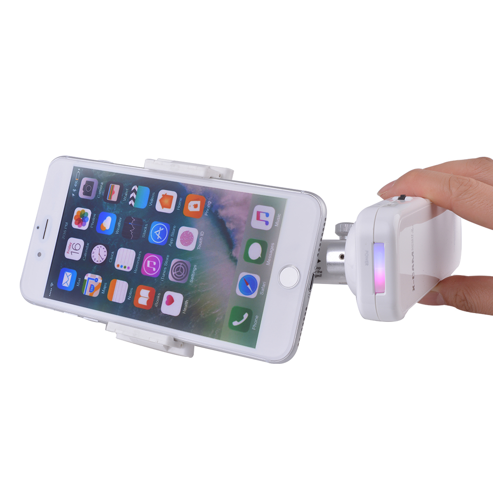 handheld bluetooth selfie stick phone stabilizer 2 axis gimbal for iphone7 ah301 ebay. Black Bedroom Furniture Sets. Home Design Ideas