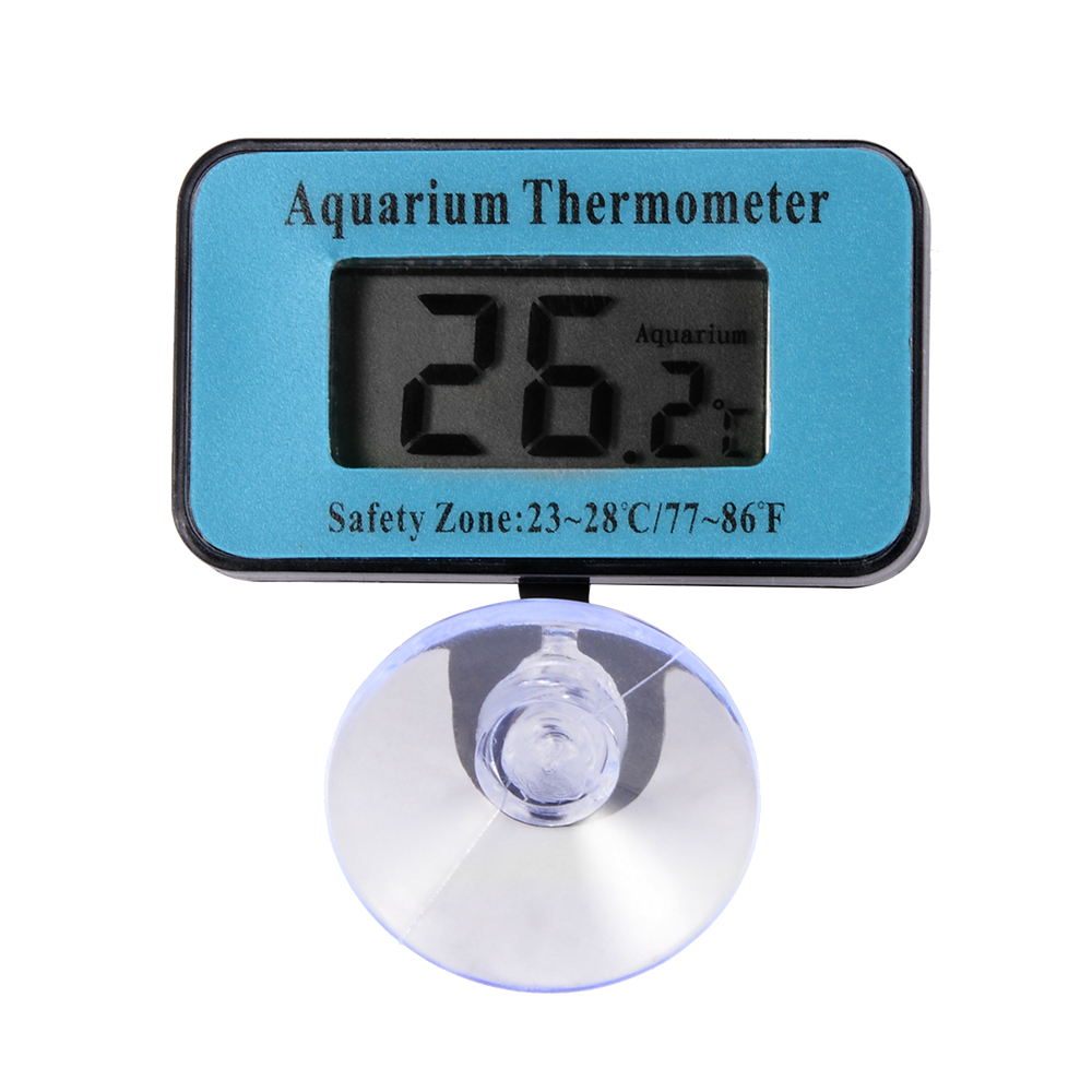 Digital lcd waterproof fish aquarium tank temperature for Aquarium thermometer