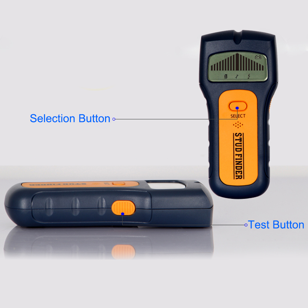 digital lcd stud  metal  wire detector cable finder wall Wall Mounted Smoke Detectors electric detector wall