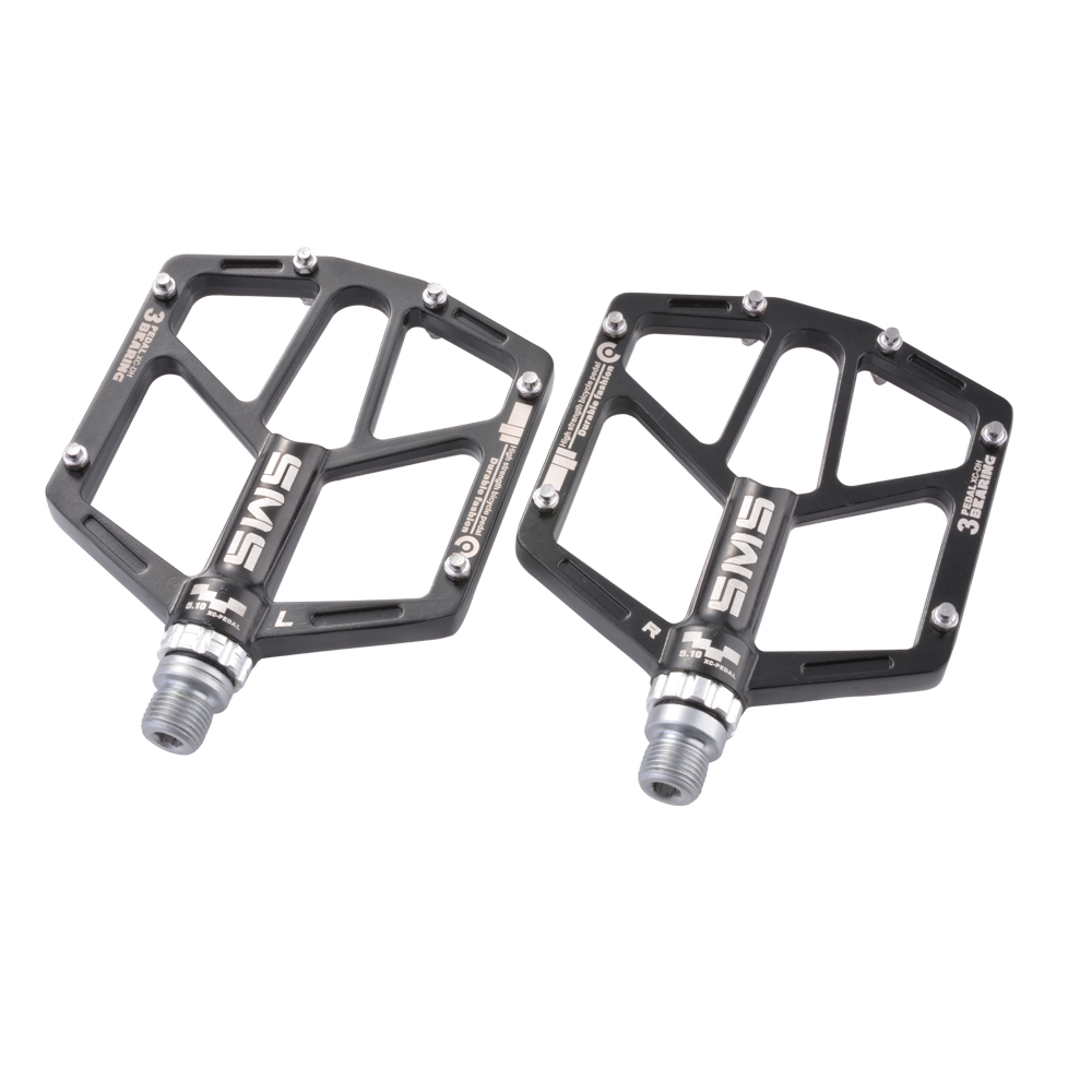 road mountain bike platform pedals flat mtb aluminium. Black Bedroom Furniture Sets. Home Design Ideas