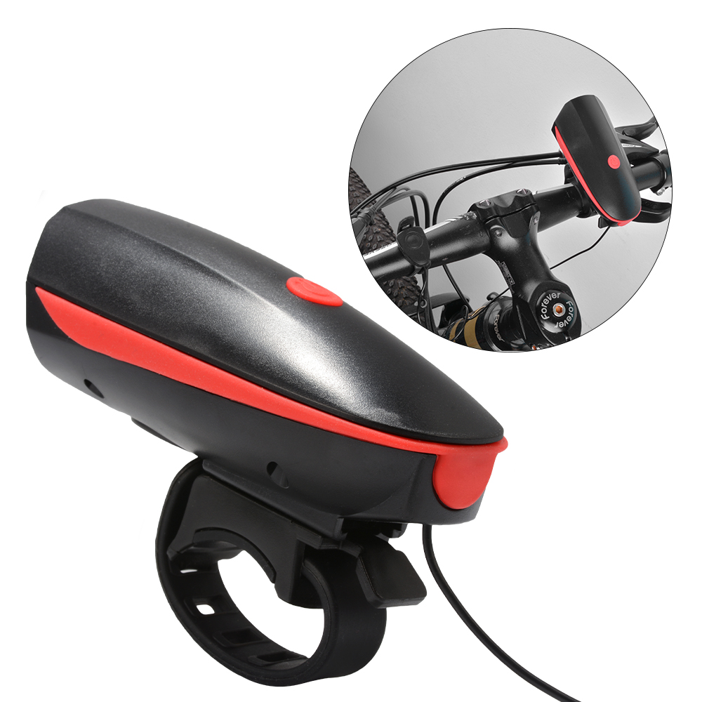 Bike Light Bell Horn Set Front And Rear Light Set Bicycle