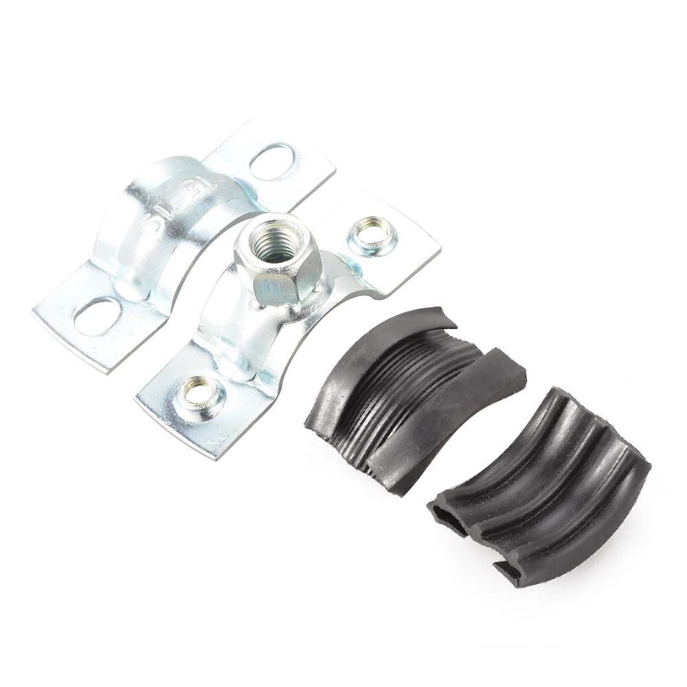 Pcs clips ferrules toggle clamps bracket rubber insert