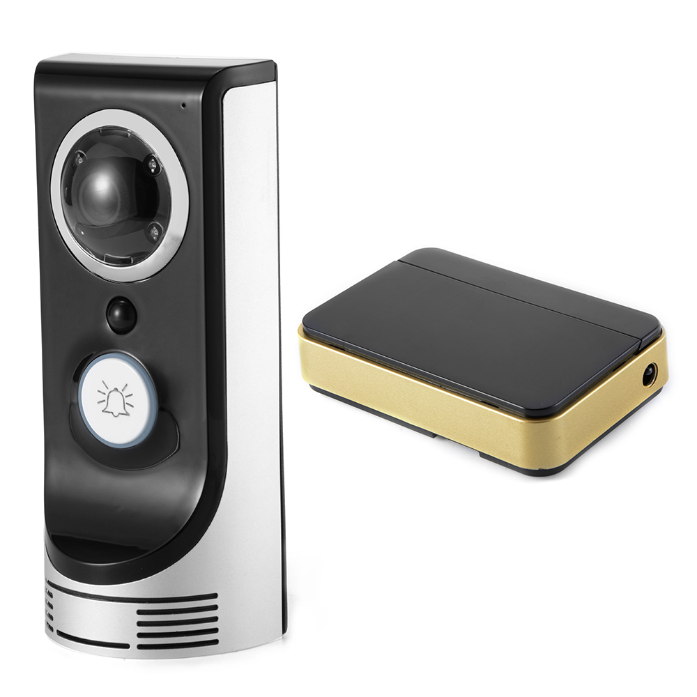 wifi door bell wireless remote camera night vision security for cell phone hs766 ebay. Black Bedroom Furniture Sets. Home Design Ideas