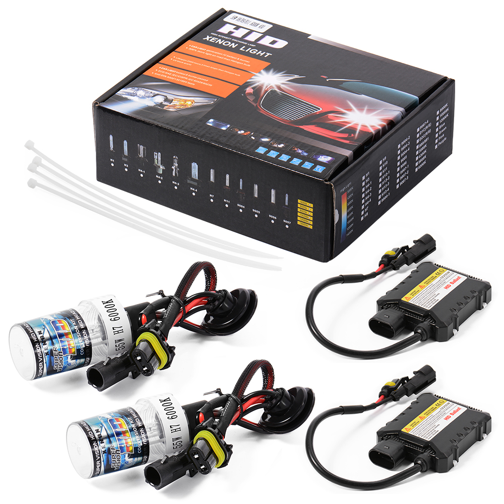 Slimline Ballast Wiring Diagram: H7 55W 6000K HID Xenon Light Conversion Kit Slim Digital
