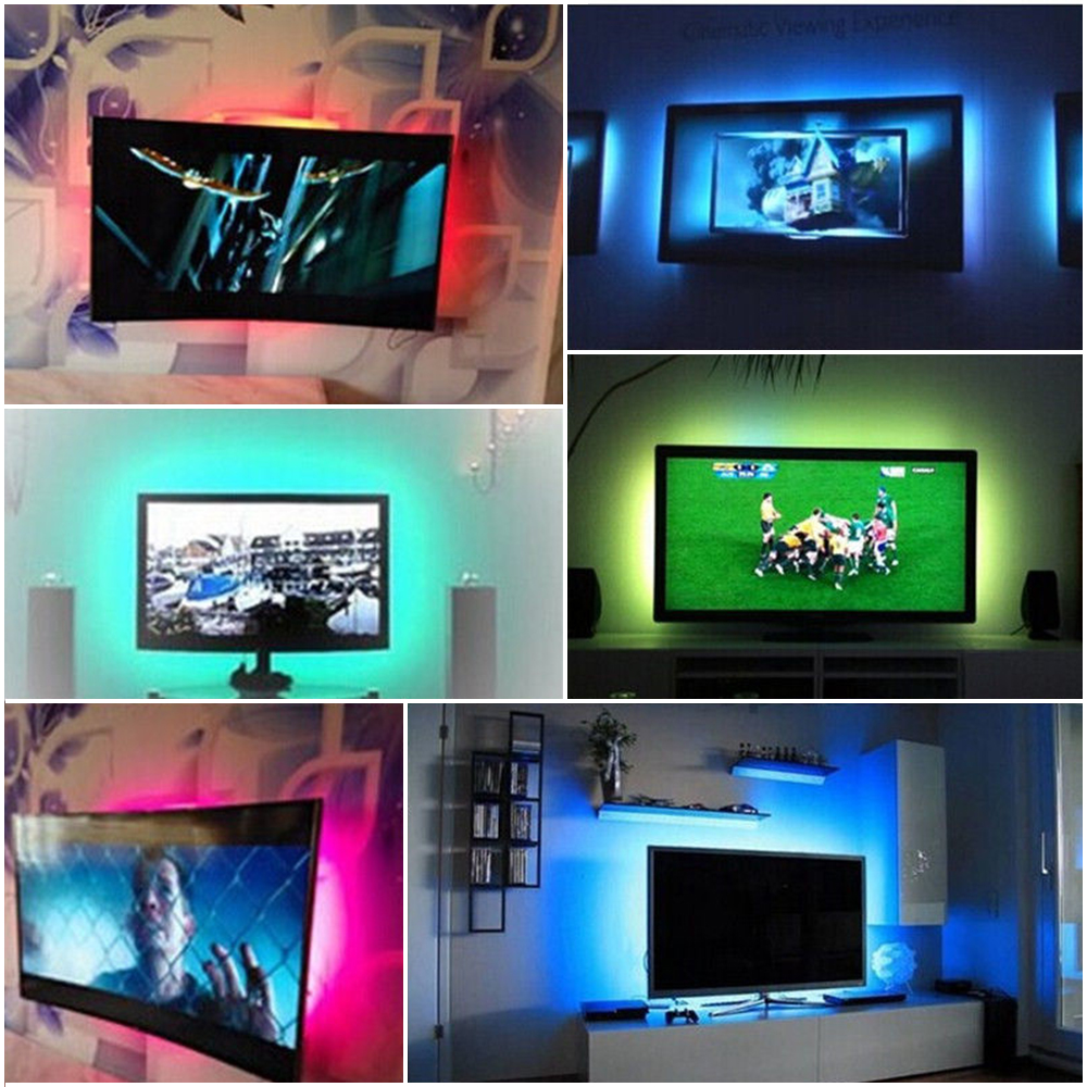 Rgb 5050smd Led Strip Light Tv Pc Monitor Background Lamp
