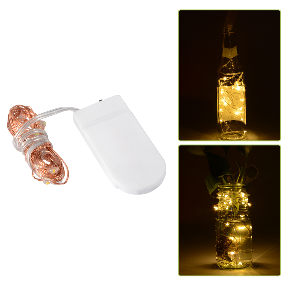8 Pack 20 LED Wire Copper Fairy String Light Battery Wedding Party Decor LD991 eBay