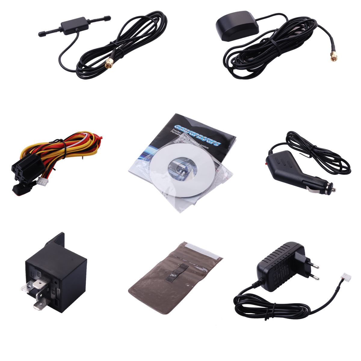 gprs gsm gps tracker system auto kfz tracking device. Black Bedroom Furniture Sets. Home Design Ideas