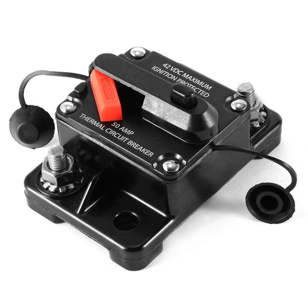 Inline Circuit Tester : A in line circuit breaker stereo audio car