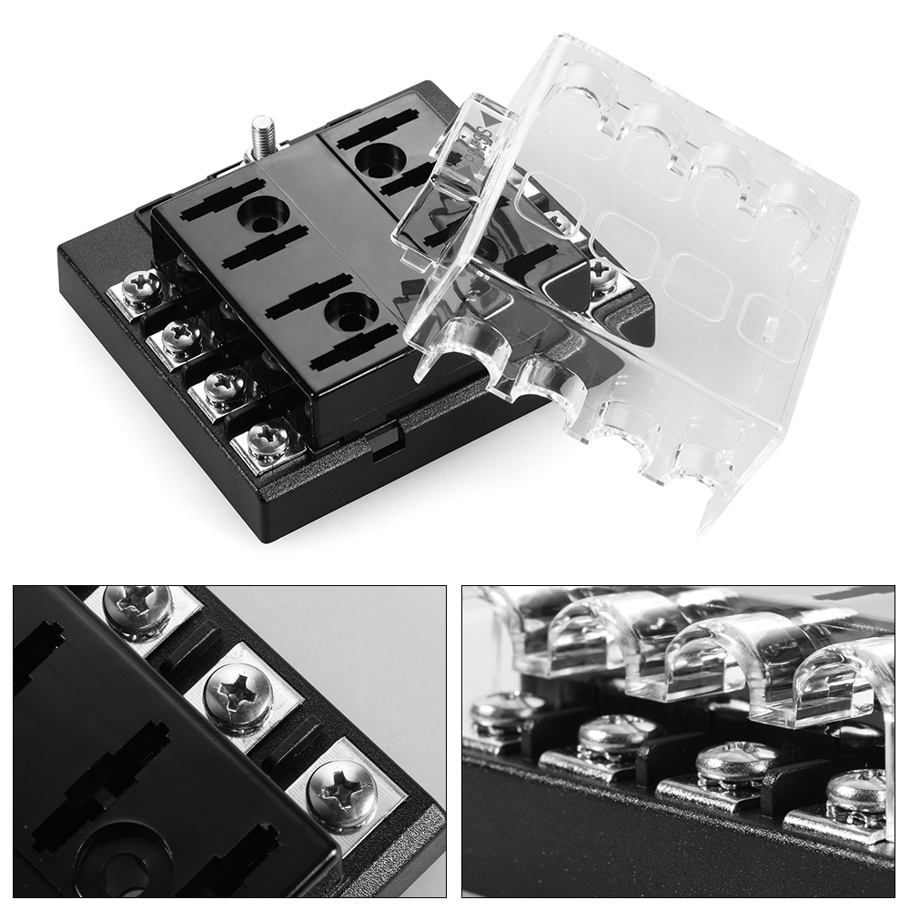 dc 32v 8 way circuit auto atc ato blade fuse box holder. Black Bedroom Furniture Sets. Home Design Ideas