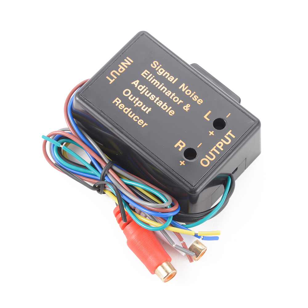 Car Audio Radio High Level Wire To Rca Line Converter Adapter High  Low Ma712
