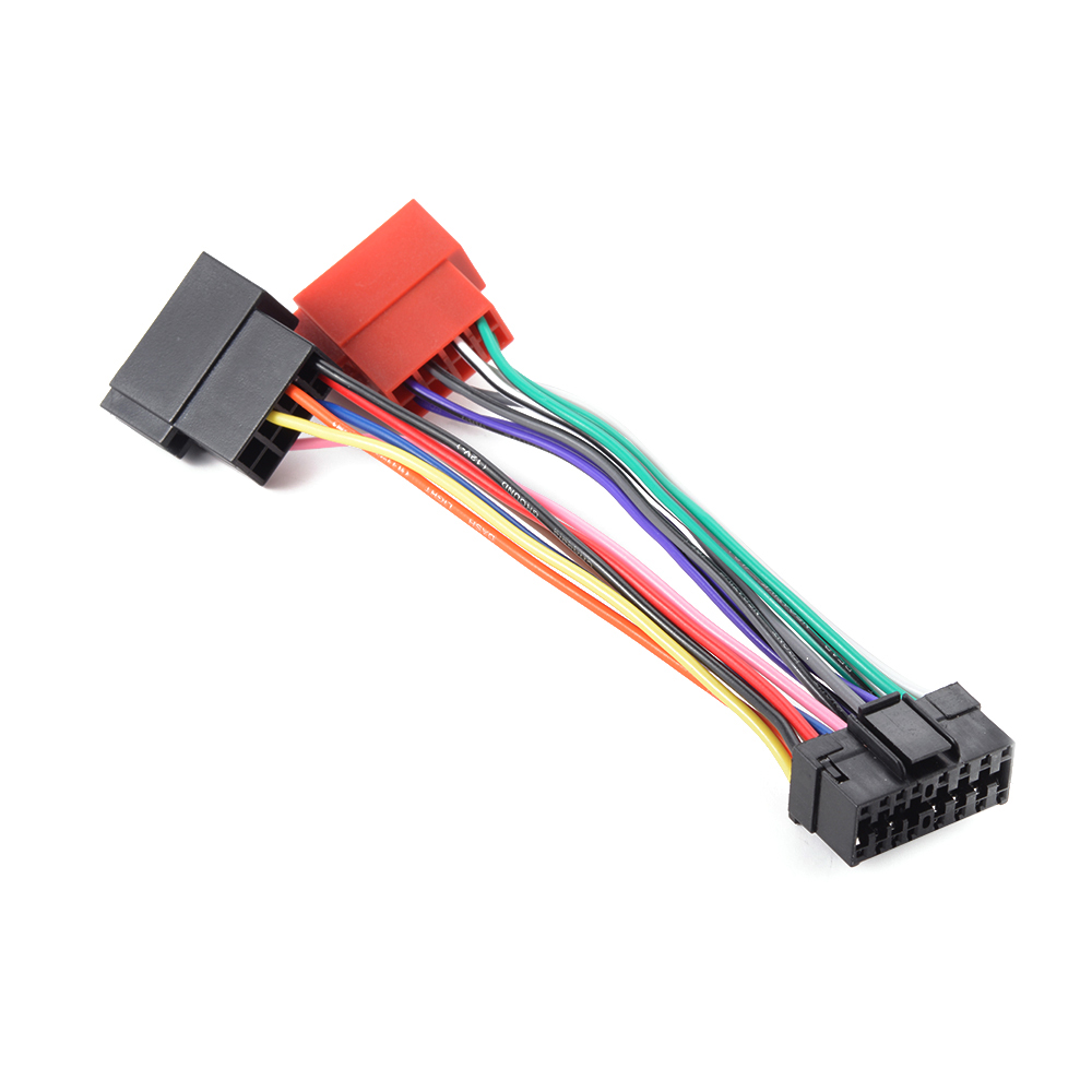 16 pin iso wiring harness for sony md xr cdx car radio. Black Bedroom Furniture Sets. Home Design Ideas
