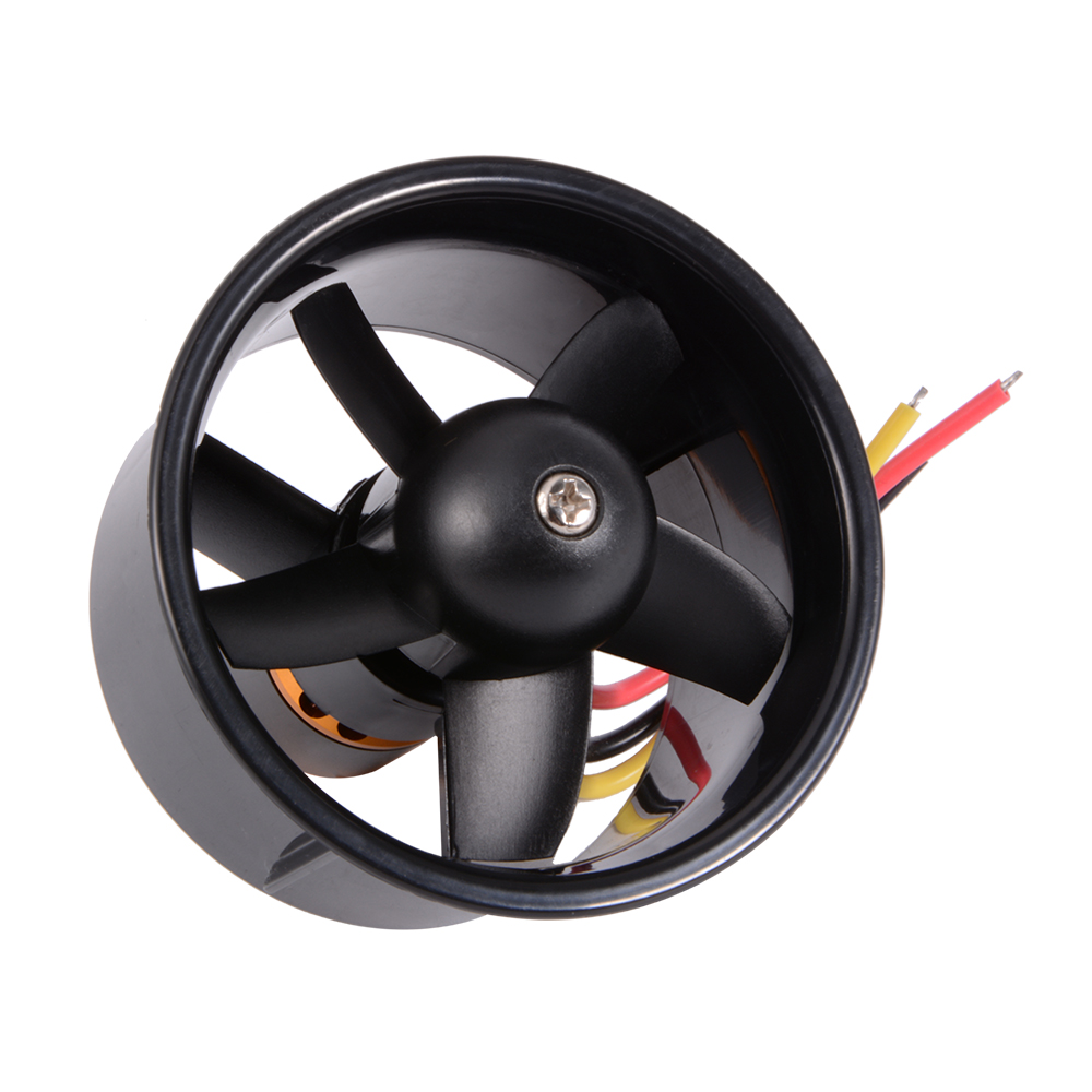 64mm Ducted Fan 5 Rotor With Electric Motor Qf2611 4500kv
