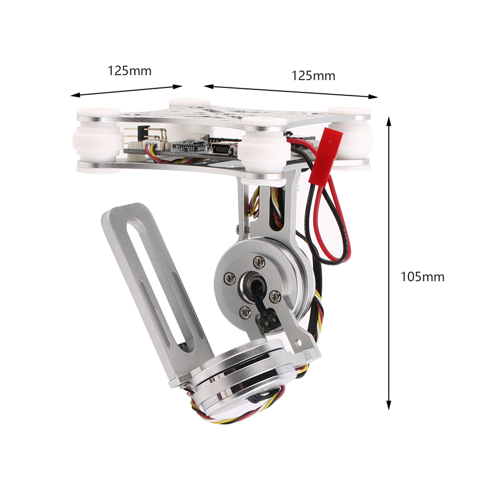 2 axis brushless gimbal camera mount w controller motor for Dji phantom 2 motor specs