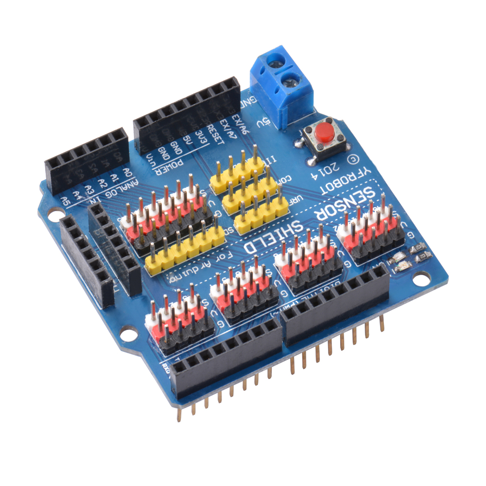 Sensor shield v expansion board module servo motor for
