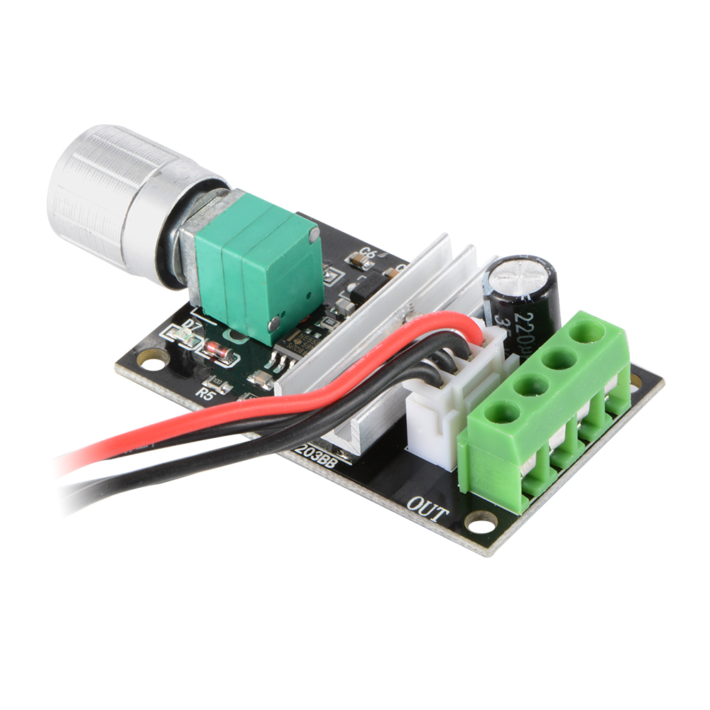 6v 12v 24v 3a 80w dc motor driver reversing speed for Speed control electric motor