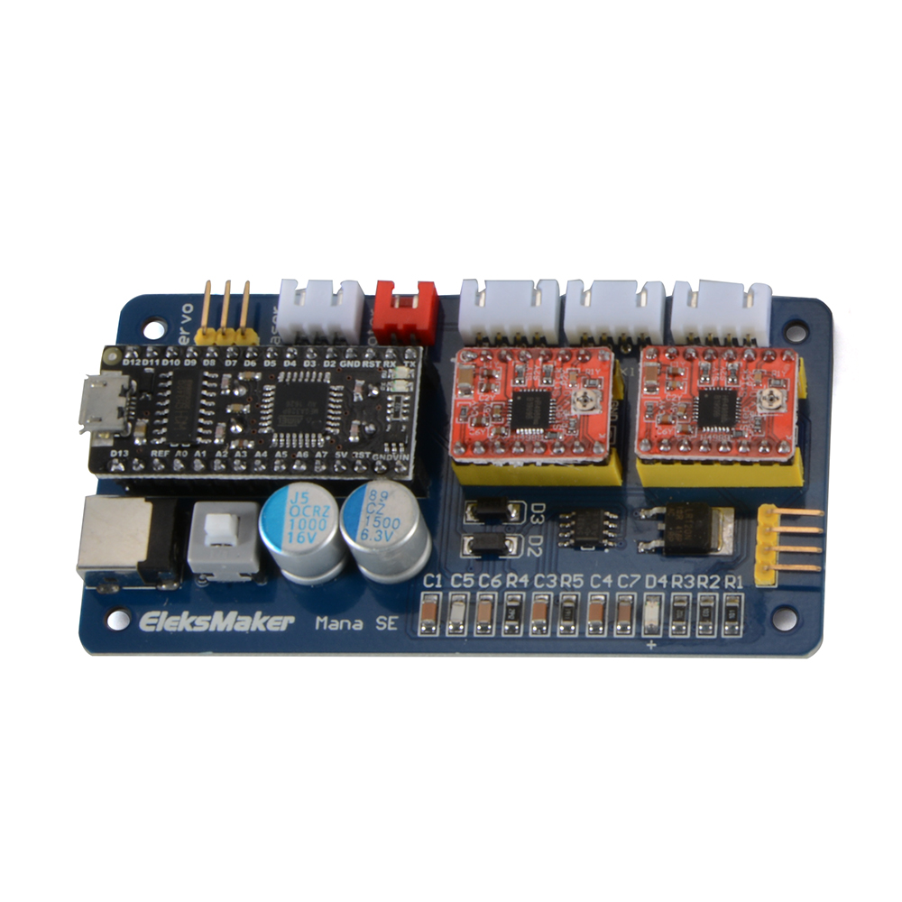 2 Axis Usb Stepper Motor Driver Laser Controlling Module