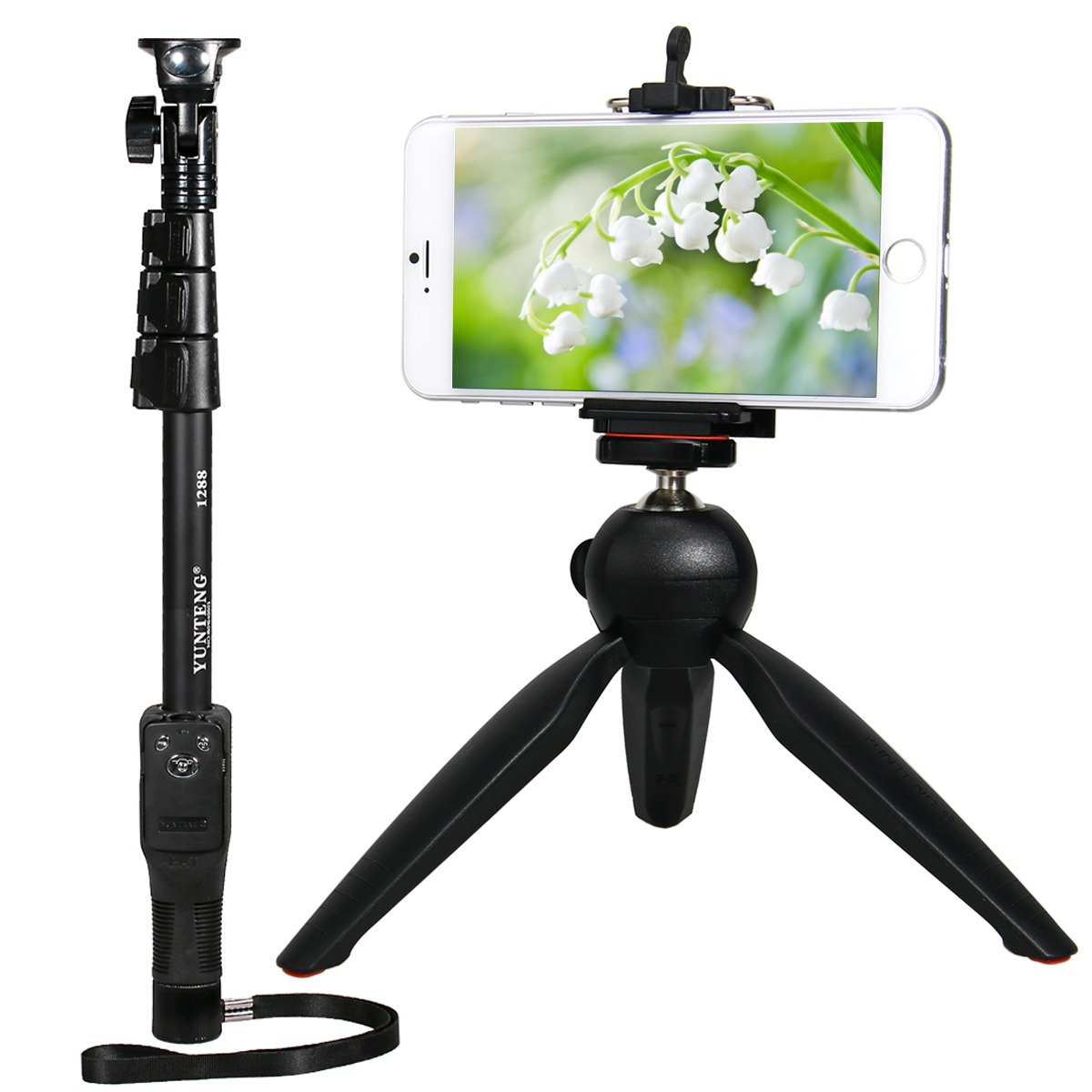 yunteng bluetooth selfie stick handheld monopod tripod for gopro 3 3 4 tv09 ebay. Black Bedroom Furniture Sets. Home Design Ideas