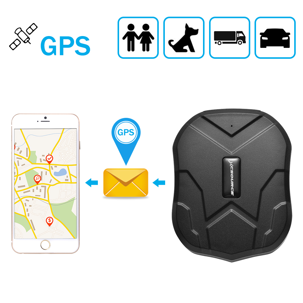 xcsource gps tracker ortung f r auto mit powerful magnet. Black Bedroom Furniture Sets. Home Design Ideas
